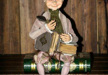 кукла сказочник по имени Визард (мастер)