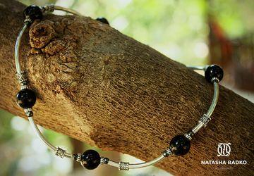Набор украшений из натуральных камней