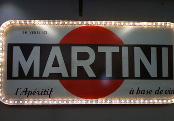 Винтажная вывеска Martini 1957г.