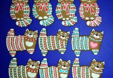 Мастер-класс Марины Репневской «Пряничные кошки»