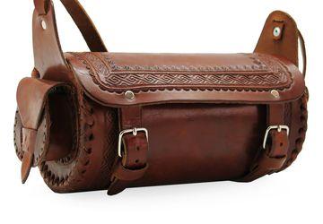 Женская кожаная сумка Mexico 0036-FM. Ручная работа.