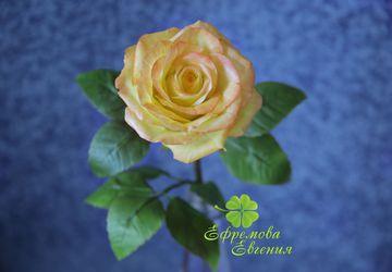Роза из холодного фафрфора
