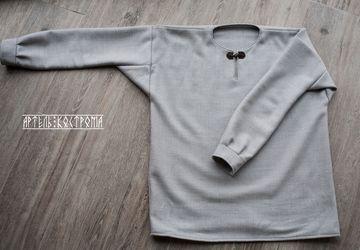Мужская теплая рубаха