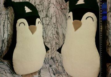 Пингвин-подушка-игрушка