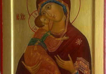 Икона Божией Матери Владимирская. (Извод прп. Андрея Рублева)