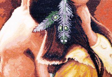Гобеленовый шов - Индейская любовь