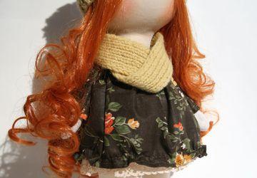 Интерьерная кукла Изольда