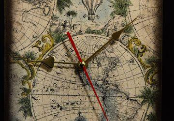 """Часы настенные """"Время путешествий"""""""