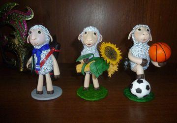 Овечка - студент, овечка - фермер, овечка - спортсмен