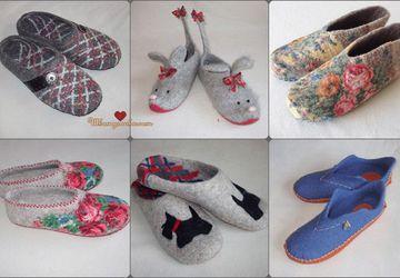 Валяние обуви в домашних условиях.