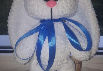 Подарочный Плюшевый зайка