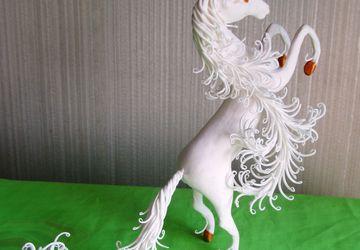 Фигурка Единорог белый Белый конь Белая лошадь