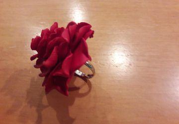 кольцо- цветок!
