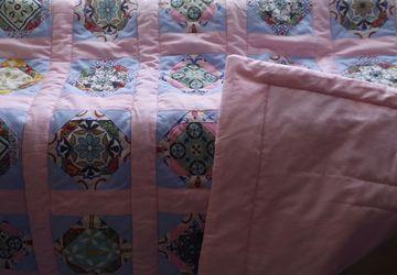 Лоскутные одеяла для деток