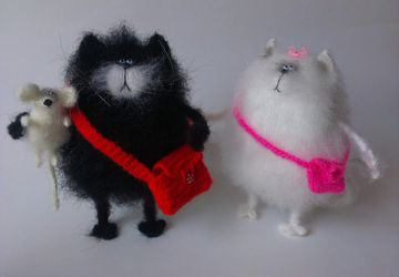 Кот Шмяк с Китти и Сырником