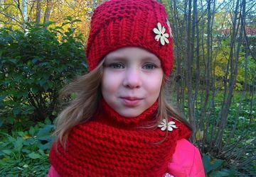 """Снуд """"Красная осень"""""""