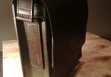 сумка мужская ручной работы на заказ