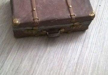 """Шкатулка """"Старый чемодан"""""""