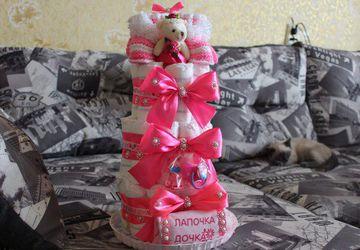 Тортик для девочки )) Лапочка дочка
