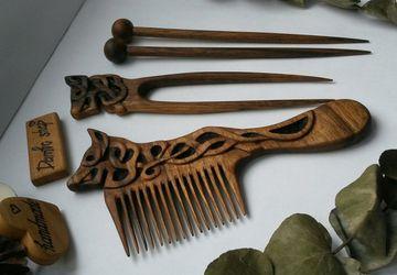Набор для волос ореховый