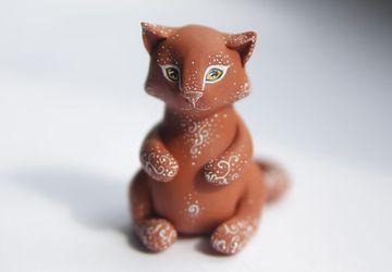 Пряничный котик
