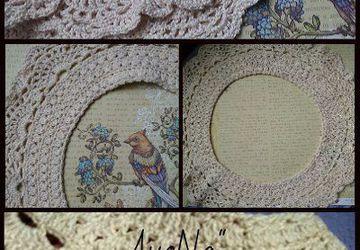Хлопковый кружевной воротничок, подойдет для платья или кофточки.