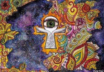 """Картина """"Око Вселенной"""""""