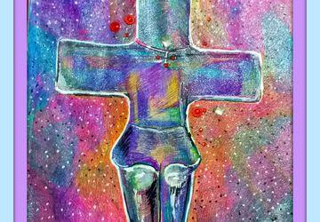 картина,Помосский идол с кипра