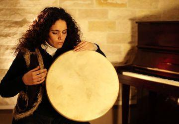 Грандиозный мастер-класс по этническим барабанам