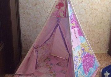 Маленькая принцесса - вигвам, игровой комплект