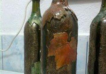 Бутылка декоративная, сувенирная