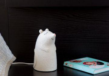 Светильник войлочный Мышонок