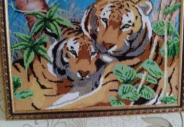 картина Тигры