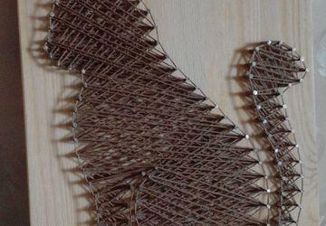 панно String Art