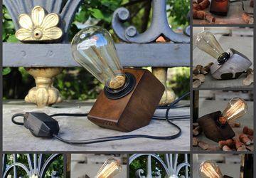 Геометрическая лампа Эдисона