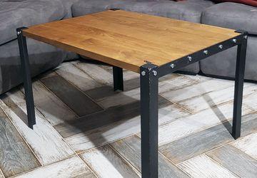 журнальный стол в стиле лофт - 9Болт