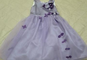 Нарядное платье для девочки, рост 122