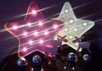 Звезда светильник