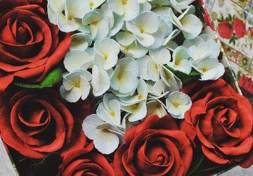 """Коробочка с цветами """"Romantike"""""""