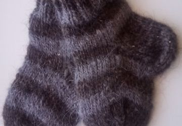 Носочки детские пуховые