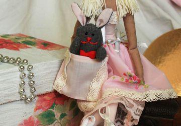 Тильда принцесса в стиле шеббии