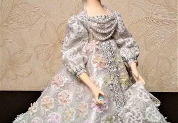 Кукла-шкатулка Снегурочка