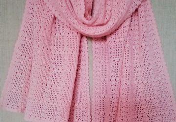 Комплект шарф + повязка на голову.