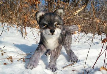 Реалистичный Волк