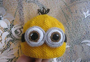 шапулька Миньон для детей и взрослых
