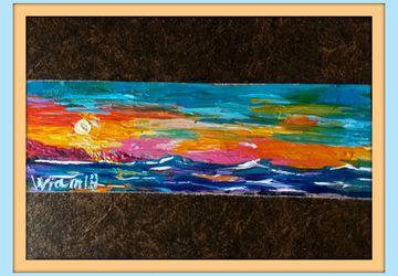 "картина ""Синее-синее море"""
