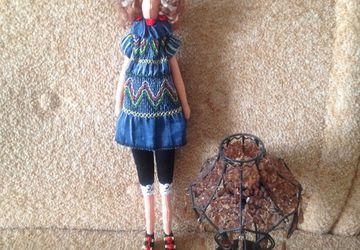 Кукла по типу Тильда ручной работы