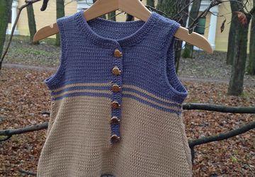 Платье-песочник для девочки