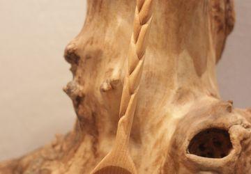 Ложки деревянные резные ручная работа.