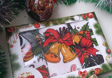 Набор новогодних полотенец